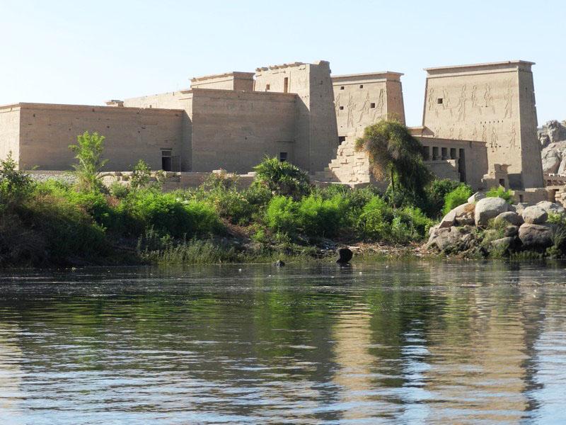 Le temple d'Isis
