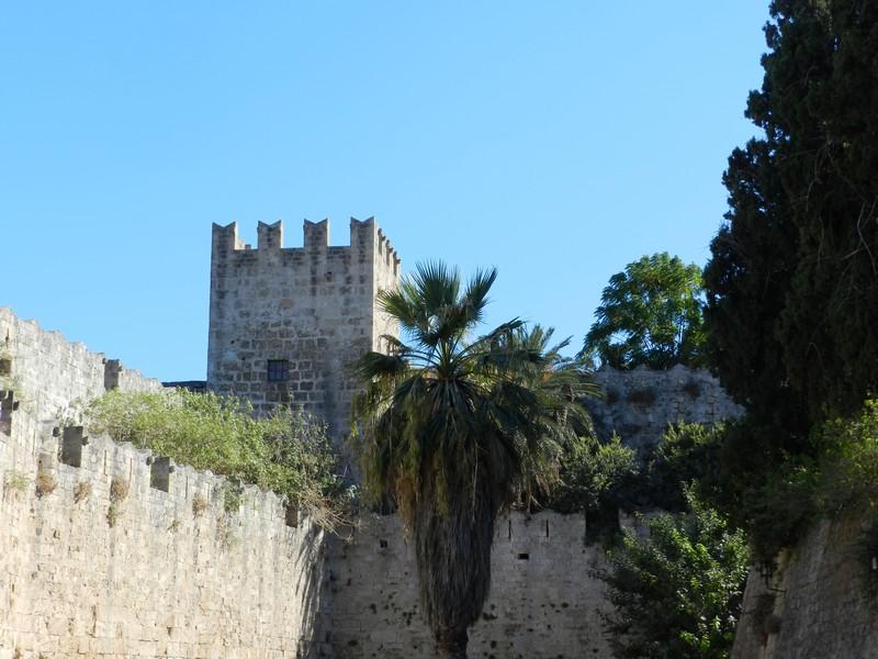La ville de Rhodes