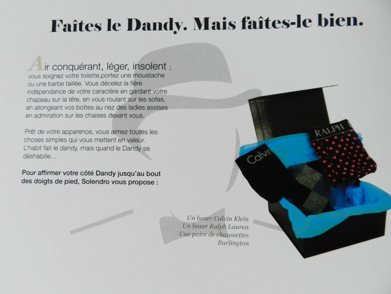 coffret dandy