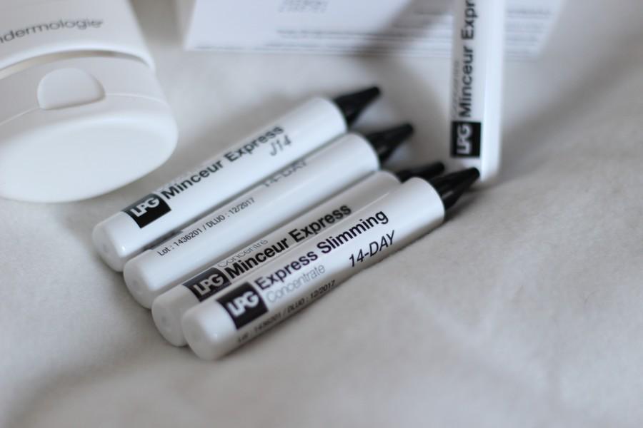 Concentré minceur LPG : Le test - Constance Rose