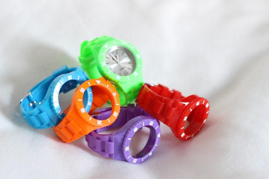 montre colorée