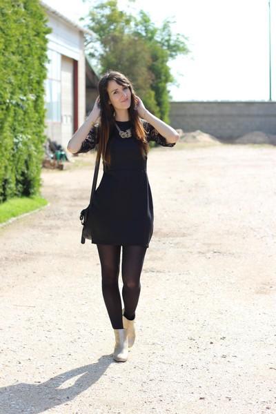 tenue robe noire