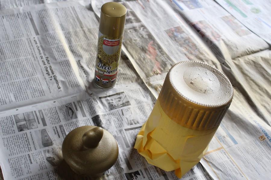 2 bombe pailletee