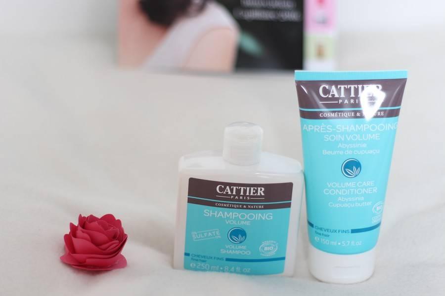 shampoing volume cattier