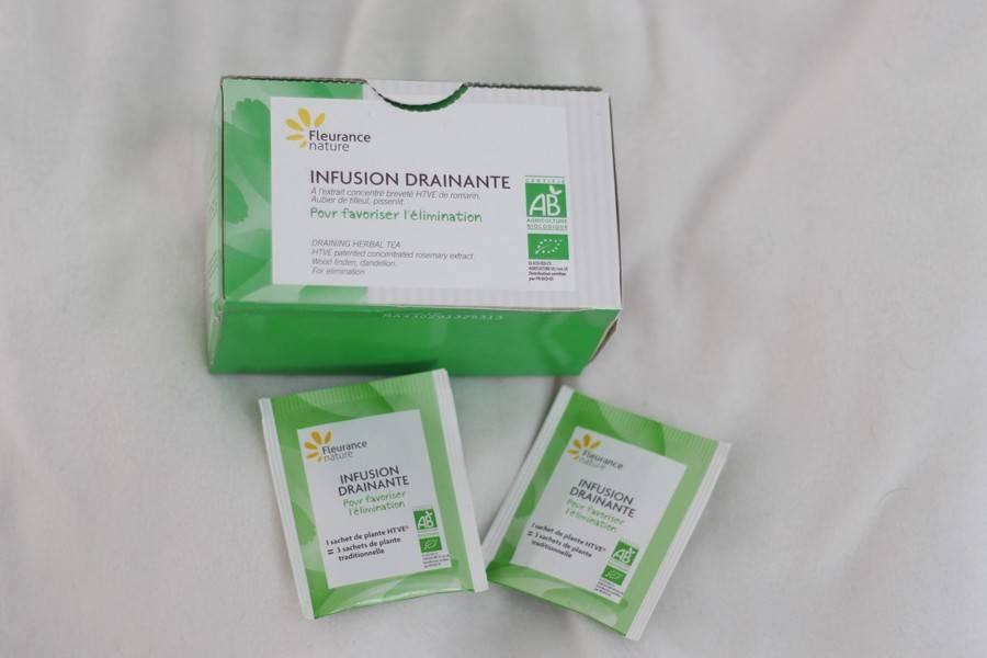 infusion drainante