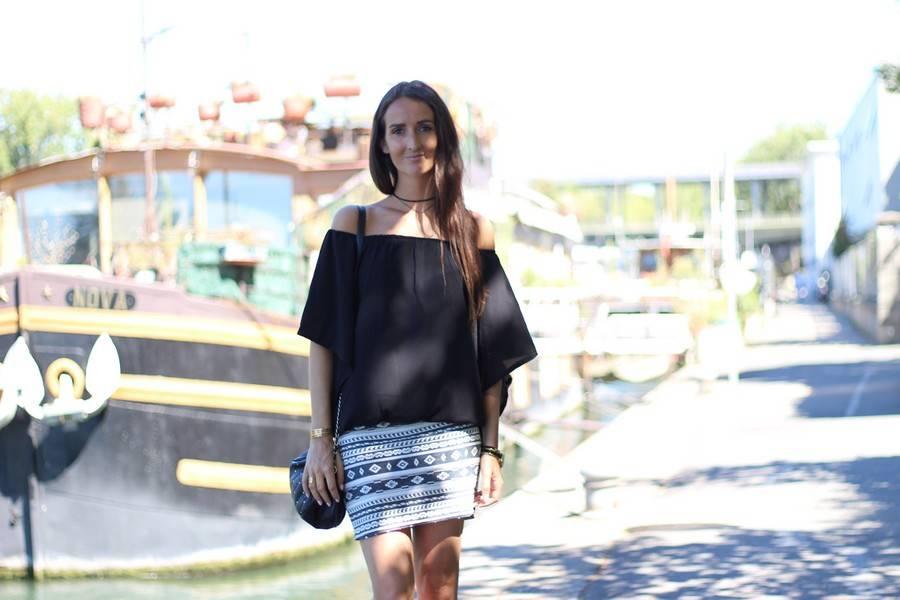 robe noire ete