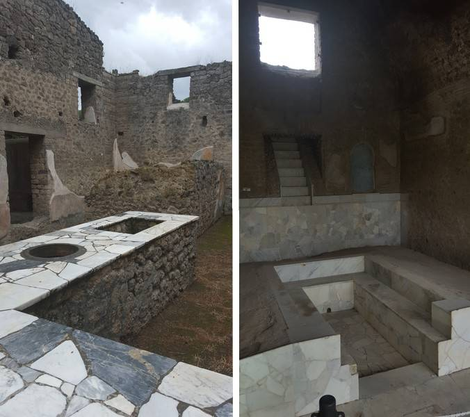 cuisine pompei