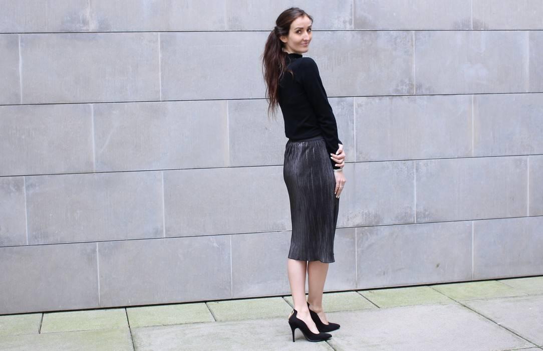 jupe longueur genou