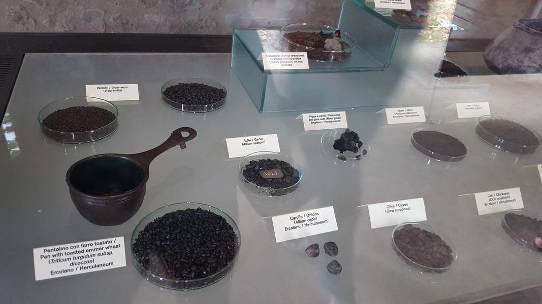 objets pompei