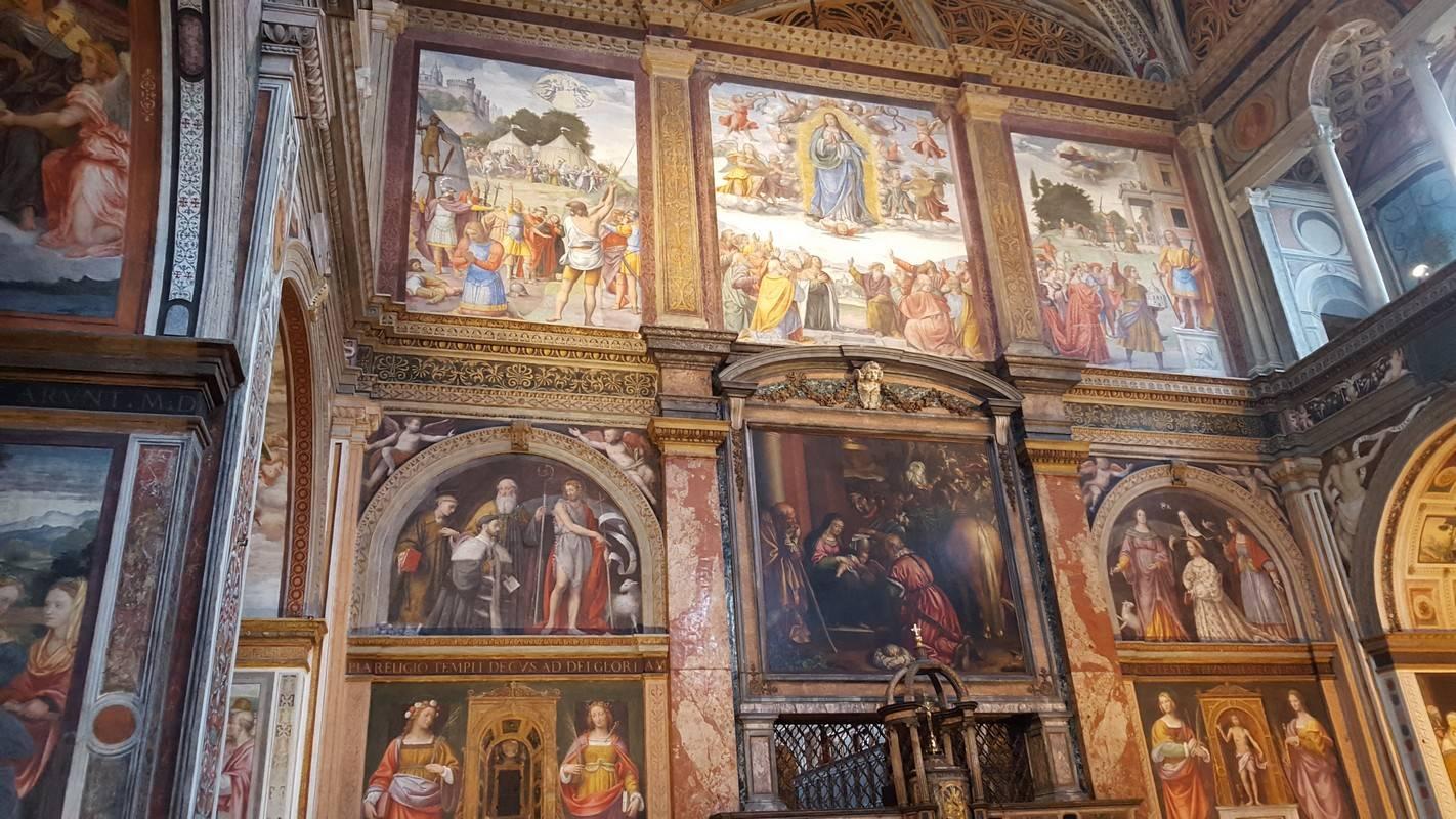 peintures eglise milan