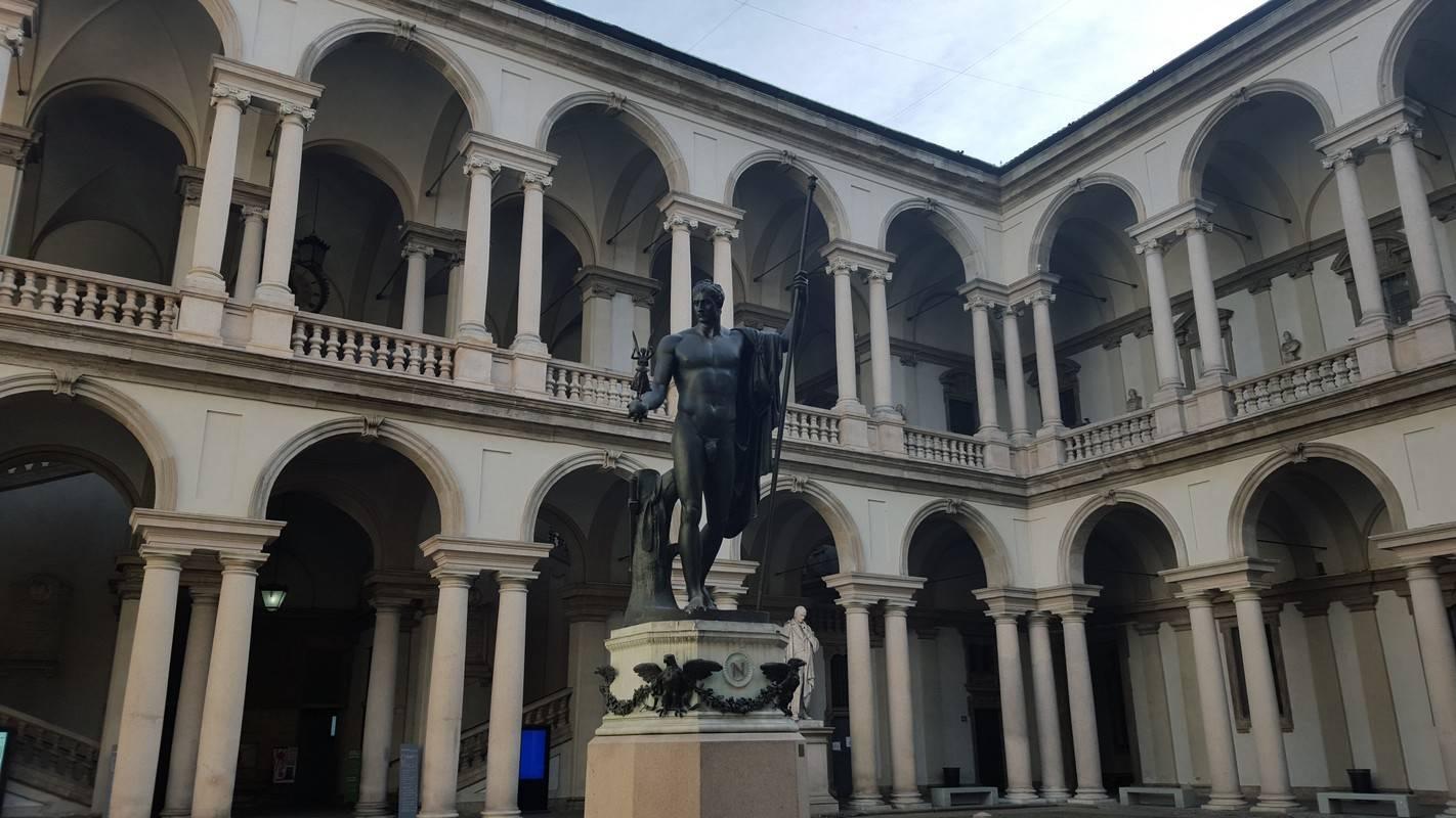 pinacotheque milan