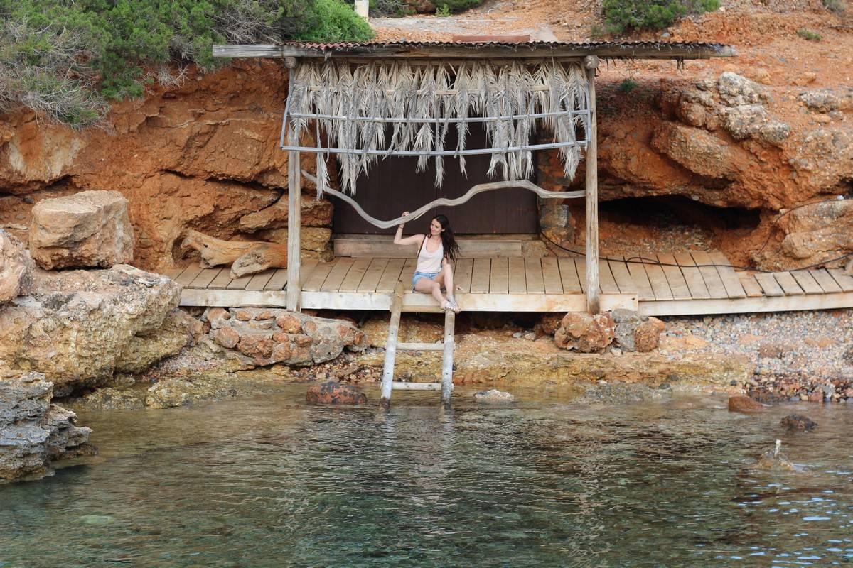 criques à Ibiza