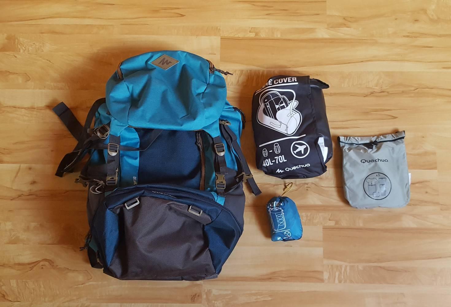 Sac à dos pour voyager un an