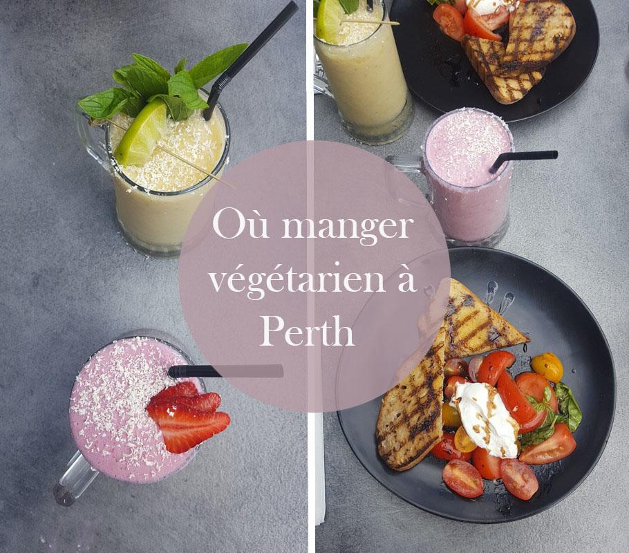 où manger végétarien à perth